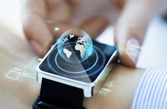 Smartwatch-hologram